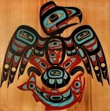 Peter Dunthorne\'s Eagle/Salmon
